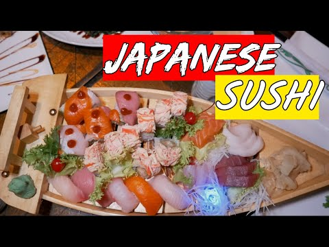 JAPANESE EXOTIC SUSHI FEAST In NYC   Food Review L EmonEats