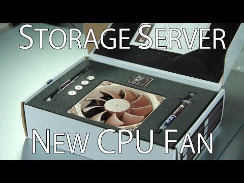 CPU Cooler Upgrade and Racking the Storage Server - Build Log Part 3