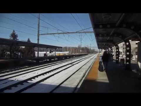 St. Patrick's Day Railfanning at Hamilton, NJ On The Amtrak Northeast Corridor