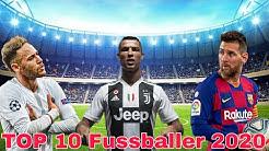 DIE 10 BESTEN FUßBALLSPIELER DER WELT 2020