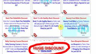 Clickbank Discount Page   Save Tons of Money on All Clickbank Items   CB Discounts