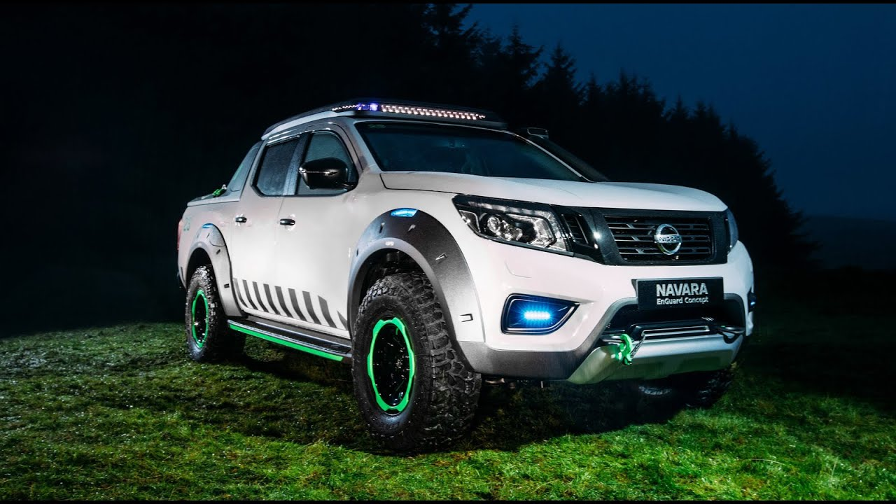 New Nissan Navara EnGuard Concept Is The Ultimate Rescue Machine ...