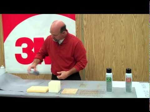 3M™ Series 20 Aerosol Spray Adhesives Demonstration