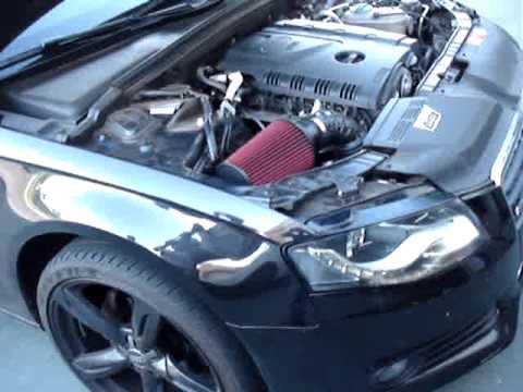 Audi A4 S Line Filtro K Amp N E V 225 Lvula Forge Youtube