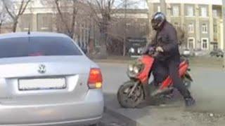 Scooter Crash Compilation 2014