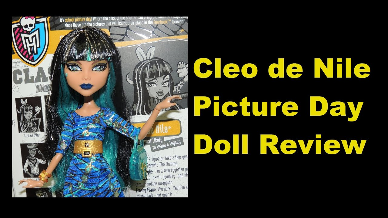 Monster High Cleo de Nile Picture Day Doll Review by