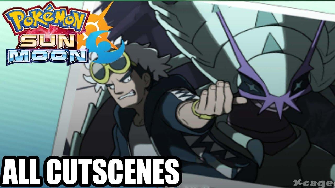 Pokemon Sun and Moon - The Movie ( All Cutscenes ) Game ...