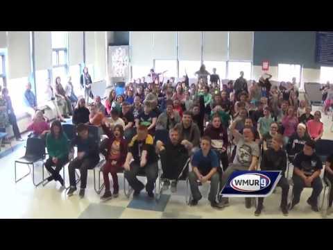 School visit: Merrimack Valley Middle School in Penacook