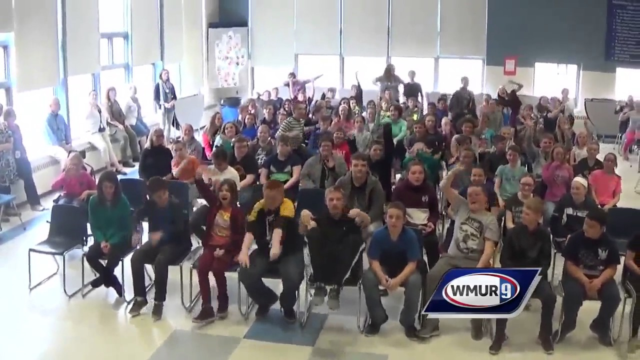 School visit: Merrimack Valley Middle School in Penacook