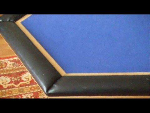 table basse transformable en table de poker youtube. Black Bedroom Furniture Sets. Home Design Ideas
