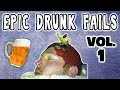 DRUNK FAIL COMPILATION VOL 1: DRUNK PEOPLE DOING THINGS