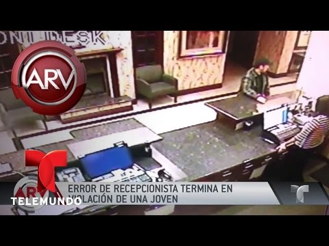 Víctima de violación demanda a hotel | Al Rojo Vivo | Telemundo