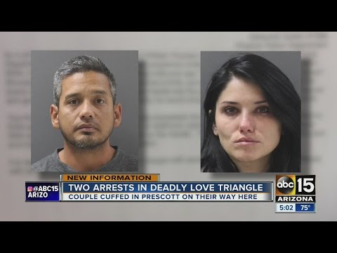Two arrested after love triangle murder in north Phoenix