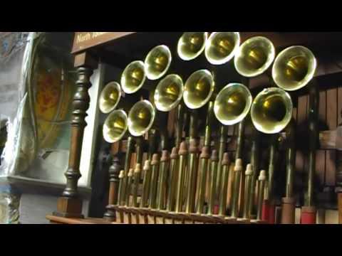 North Tonawanda TRUMPET BARREL ORGAN Fairground Band Mechanical Music Machine