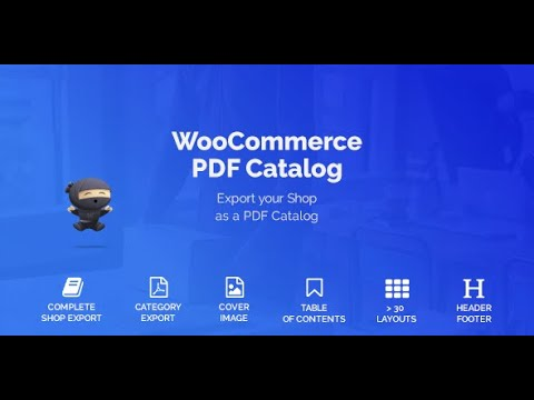 WooCommerce PDF Catalog Plugin