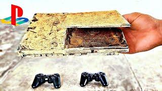 Restoration Abandoned PLAYSTATION PS2 | Restoration Destroyed Retro Console