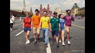 Así cuelan la bandera arcoíris en Rusia - The Hidden Flag