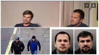 Петров и Боширов из кремлевского театра абсурда, безумное сходство!