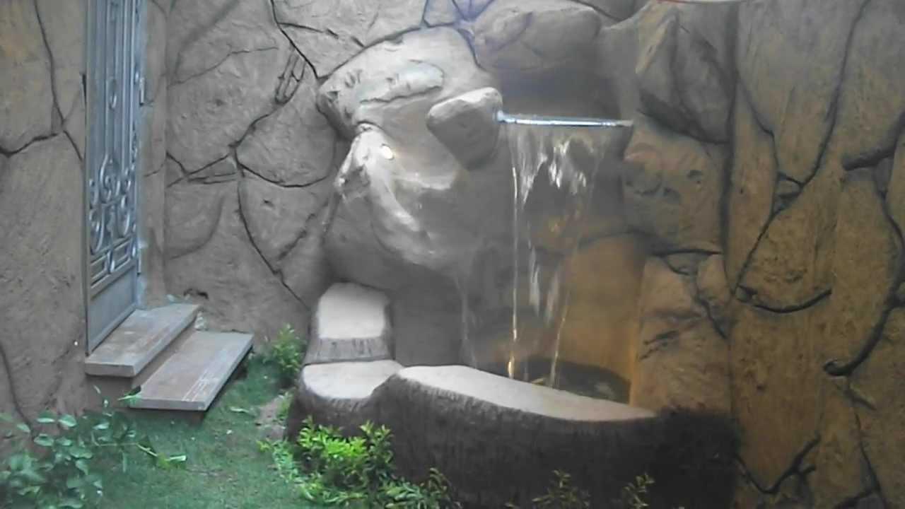 Artificial Waterfall Rocks House Corner 00201115144468
