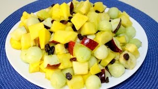 Fruit Salad With Honey-lime Dressing - In The Kitchen With Jonny Ep 36