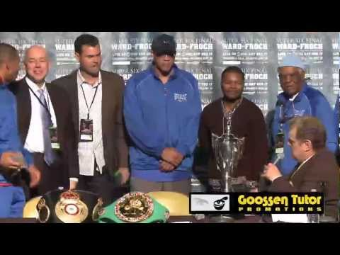 Andre Ward defeats Carl Froch !!! Post Fight Press Conference