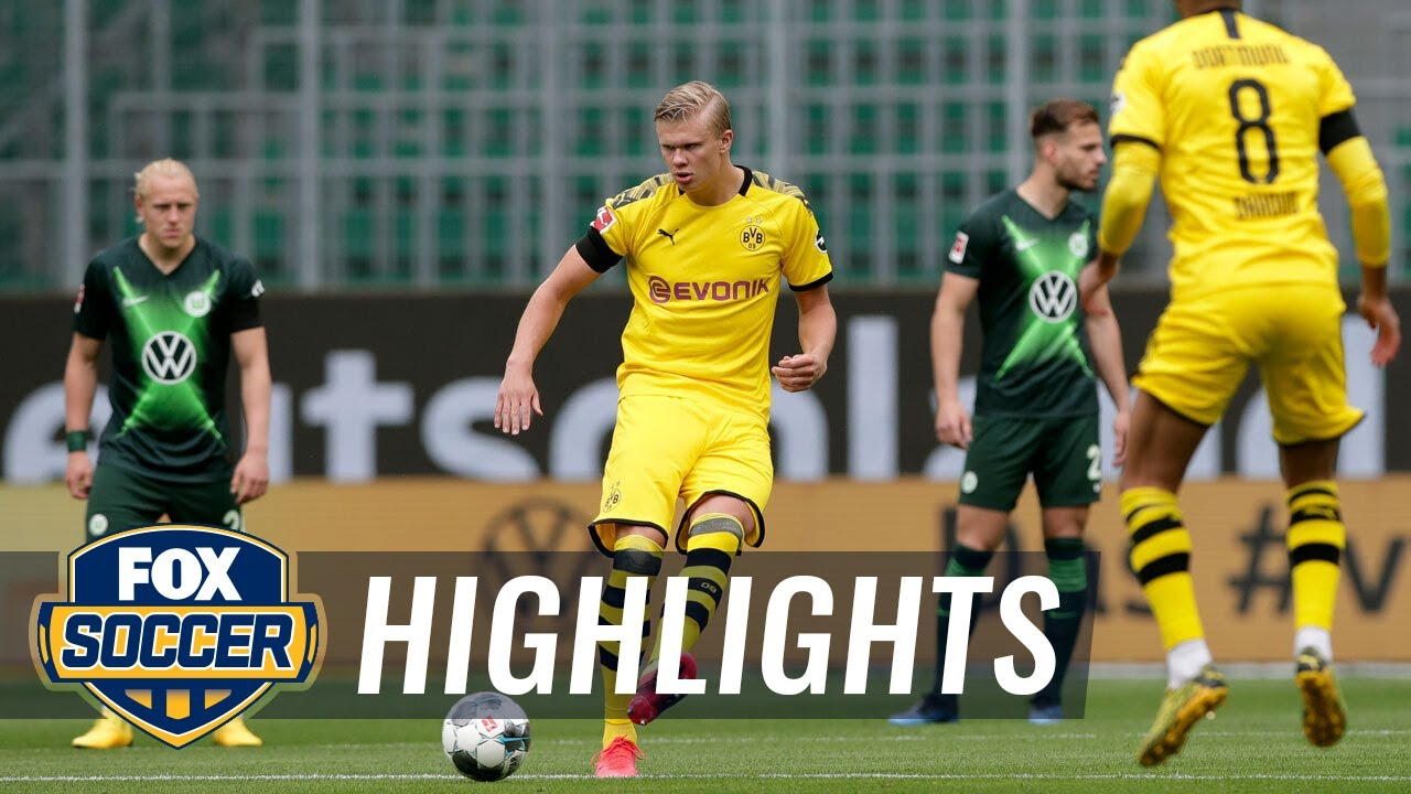 Dortmund defeats Wolfsburg, keeps pressure on league leader FC Bayern | 2020 Bundesliga Highlights