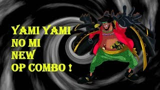 NEW COMBO ! | YAMI YAMI NO MI | Steve's One Piece | ROBLOX