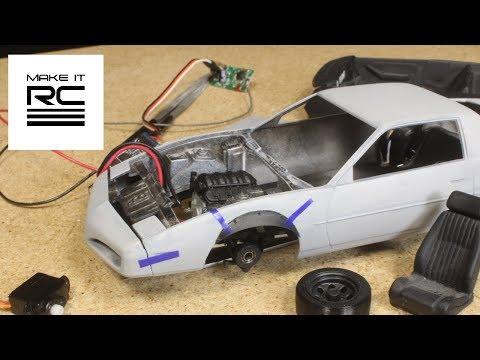 Firebird Drift Build: Part 2 Making Progress On Suspension + Electronics