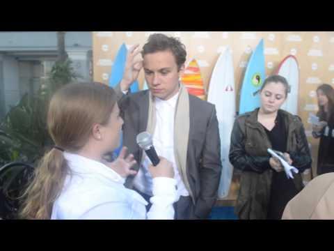 Finn Cole Interview at TNT Animal Kingdom Premiere