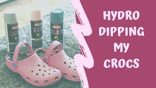 Hydro Dipping My Crocs