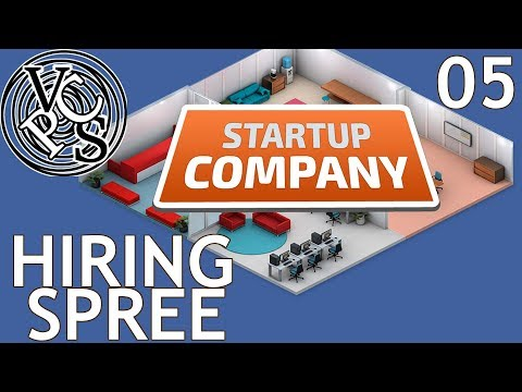 Hiring Spree : Let's Play Startup Company EP05 - Beta 12 Software Developer Tycoon Gameplay