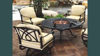 Garden Furniture Ideas | Outdoor Furniture With Fire Pit Romance
