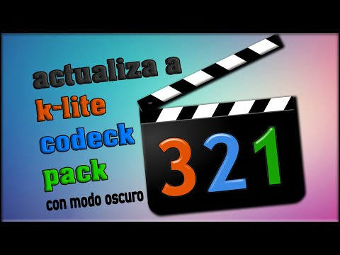 Descargar K LITE CODEC PACK MEDIA PLAYER CLASSIC Ultima Version 2020
