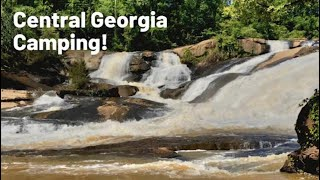 CENTRAL GEORGIA CAMPING | Camping near Atlanta | Indian Springs State Park | High Falls State Park