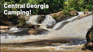 CENTRAL GEORGIA CAMPING | Camṗing near Atlanta | Indian Springs State Park | High Falls State Park