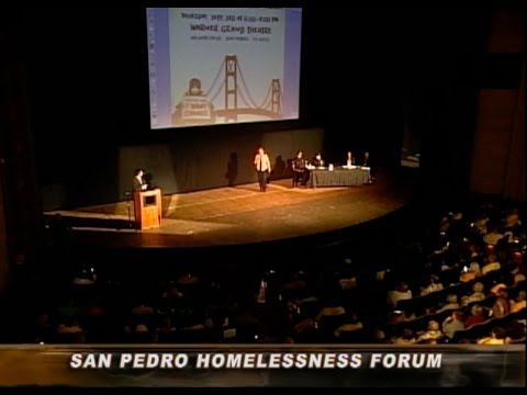San Pedro Homelessness Forum: September 3, 2015