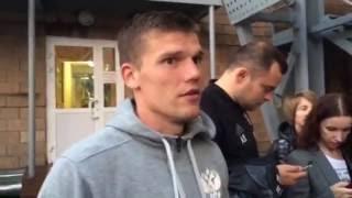 Денисов рассказал о своем дебюте в 'Локомотиве'