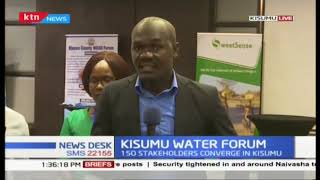 150 Stakeholders converge in Kisumu for the water summit
