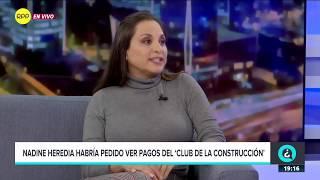 """Rossana Cueva: """"Nadine Heredia se encargaba de los negocios"""""""