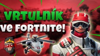 *NOVÝ* TRIAGE TROOPER SKIN S HELIKOPTÉROU! / Fortnite Battle Royale Solo Gameplay / Alkan