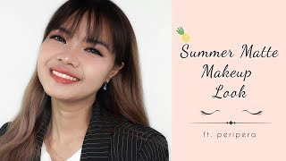 Summer Matte Makeup Look | peripera | YesStyle Korean Beauty