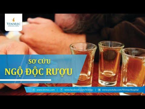 Hướng dẫn sơ cứu ngộ độc rượu