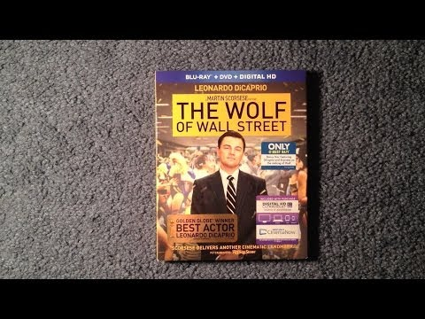 Unboxing The Wolf of Wall Street Blu-Ray/DVD/Digital HD