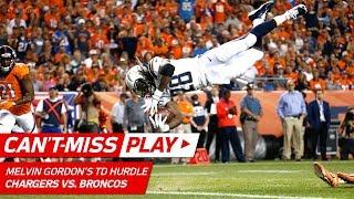 Melvin Gordon's Huge Hurdle & TD!   Can't-Miss Play   NFL Week 1 Highlights