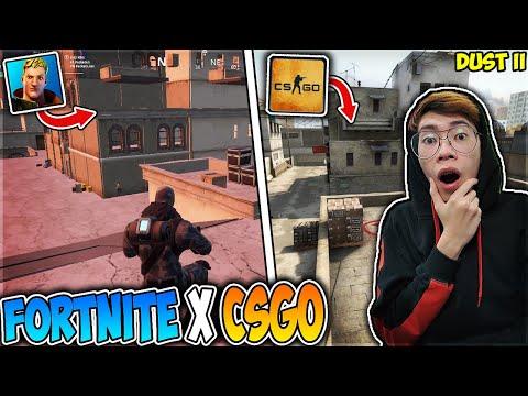 Fortnite X CS:GO (KOLABORASI?!) *MAIN CS:GO COMPETITIVE DI FORTNITE* - 동영상