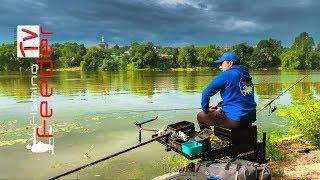 Рыбалка на фидер. Как поймать леща на реке. Vlog#38 Feeder fishing TV Рыбалка 2019