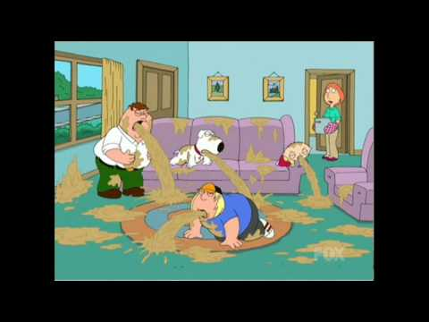 Family Guy Puke-A-Thon FUNNY - YouTube