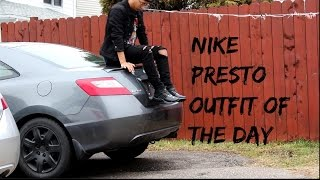 sports shoes f755f 8bde2 Nike Presto On-Foot  Outfit Of The Day!