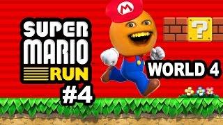 Annoying Orange Plays - Super Mario Run #4: World 4