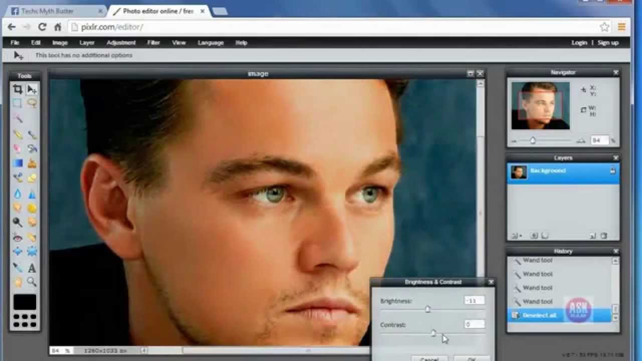 How To Use Online Photoshop For Free Askram Youtube